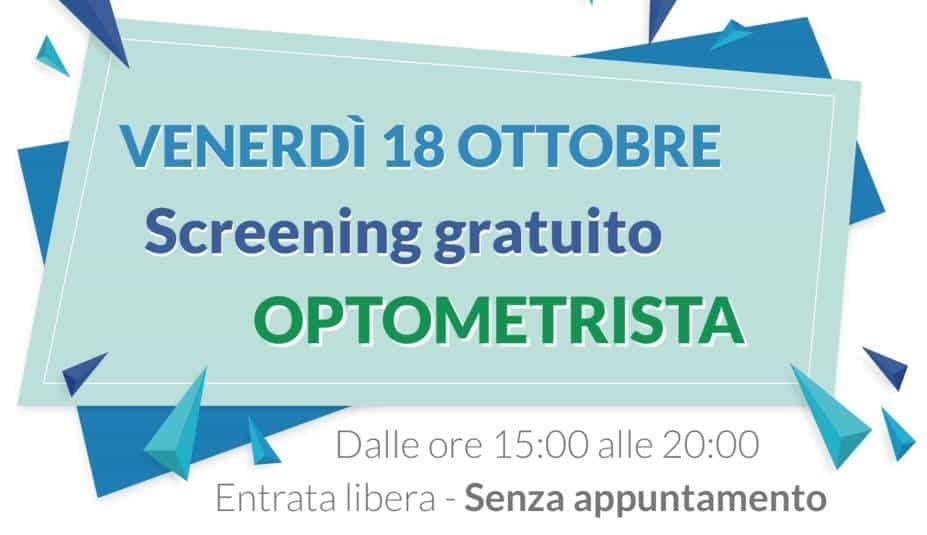 screening optometrista gratuito